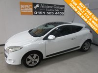 USED 2010 10 RENAULT MEGANE 1.5 DYNAMIQUE TOMTOM DCI 3d 106 BHP LOW TAX AND INSURANCE