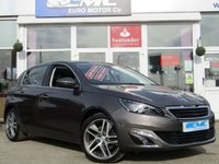 USED 2013 63 PEUGEOT 308 1.6 THP 156 ALLURE 5DR