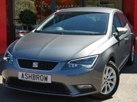 USED 2015 15 SEAT LEON 1.2 TSI SE TECHNOLOGY 5d 110 S/S UPGRADE TOOL KIT, UPGRADE SPACE SAVING SPARE WHEEL, SAT NAV, BLUETOOTH PHONE & MUSIC STREAMING, DAB RADIO, MANUAL 6 SPEED GEARBOX, START STOP TECHNOLOGY, LED FRONT & REAR LIGHTS, FRONT FOG LIGHTS, 16 INCH 10 SPOKE ALLOYS, GREY CLOTH INTERIOR, LEATHER MULTI FUNCTION STEERING WHEEL, CRUISE CONTROL, ELECTRIC WINDOWS x4, ELECTRIC HEATED MIRRORS, REMOTE CENTRAL LOCKING, MFD TRIP COMPUTER, CD HIFI WITH 2x SD CARD READERS, MDI INPUT, AIR CONDITIONING, FRONT ARM REST, SERVICE HISTORY, £20 RFL