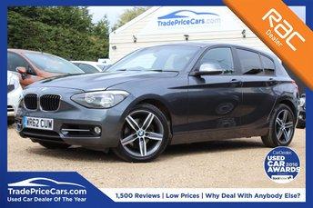 2012 BMW 1 SERIES 2.0 120D SPORT 5d 181 BHP £8950.00