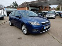 USED 2009 59 FORD FOCUS 1.8 TITANIUM TDCI 5d 115 BHP SAT NAV,SERVICE HISTORY,TWO KEYS,AIR CON,CRUISE CONTROL