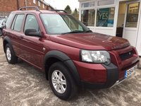 USED 2004 54 LAND ROVER FREELANDER 2.0 TD4 S STATION WAGON 5d 110 BHP