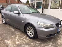 USED 2004 04 BMW 5 SERIES 2.5 525I SE 4d AUTO 190 BHP