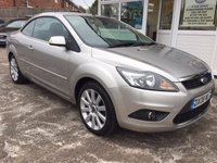 USED 2008 08 FORD FOCUS 2.0 CABRIOLET - ELECTRIC ROOF - PERFECT FOR SUMMER!!!