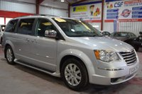 2008 CHRYSLER GRAND VOYAGER 2.8 CRD LIMITED 5d AUTO 161 BHP £6285.00