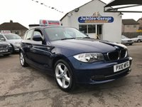 USED 2010 10 BMW 1 SERIES 2.0 118D SPORT 5d 141 BHP One Owner, Full BMW History, Low Miles, £30 Road Tax!
