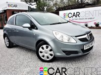USED 2010 60 VAUXHALL CORSA 1.4 EXCLUSIV A/C 3d 98 BHP 2 PRV OWNERS + LOW MILEAGE + JUST FULLY SERVICED  + REAR TINTED WINDOWS + AUX POINT + MOT APRIL 2019 AND MORE!