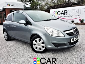 View our 2010 60 VAUXHALL CORSA 1.4 EXCLUSIV A/C 3d 98 BHP