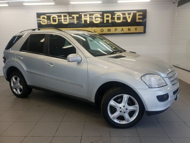 USED 2007 07 MERCEDES-BENZ M-CLASS 3.0 ML320 CDI Sport 7G-Tronic 5dr SAT NAV-FINANCE AVAILABLE