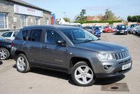 2011 JEEP COMPASS 2.4 LIMITED 5d AUTO 168 BHP £6575.00