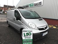 2013 VAUXHALL VIVARO 2.0 2900 CDTI ECOFLEX LWB WITH FSH CHOICE IN STOCK £6995.00
