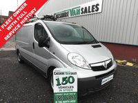 USED 2013 13 VAUXHALL VIVARO 2.0 2900 CDTI ECOFLEX LWB WITH FSH CHOICE IN STOCK LOW MILES WITH FULL SERVICE HISTORY