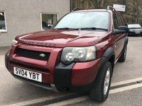 2004 LAND ROVER FREELANDER 2.0 TD4 S STATION WAGON 5d 110 BHP £1995.00