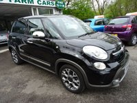 USED 2014 14 FIAT 500L 1.4 TREKKING 5d 95 BHP Low Mileage, One Lady Owner from new, Comprehensive Fiat Service History + Just Serviced by ourselves, MOT until April 2019, 6 Speed Gearbox, Low Insurance Group!
