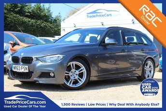 2013 BMW 3 SERIES 2.0 320D M SPORT TOURING 5d 181 BHP £13500.00