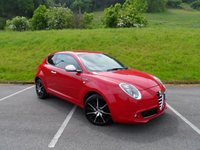 USED 2014 14 ALFA ROMEO MITO 1.6 JTDM-2 SPORTIVA 3d 120 BHP ONE OWNER, FULL MAIN DEALER SERVICE HISTORY, FULL LEATHER, NAV