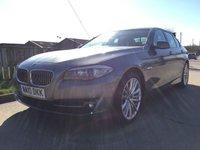 2010 BMW 5 SERIES 3.0 525D SE 4d AUTO 202 BHP £10490.00