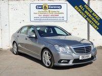 2011 MERCEDES-BENZ E CLASS 3.0 E350 CDI BLUEEFFICIENCY SPORT 4d AUTO 265 BHP £11688.00