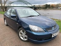 USED 2007 57 MITSUBISHI LANCER 2.0 SPORT 4d 133 BHP **1 OWNER FORM NEW!!**