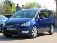 USED 2014 64 FORD GALAXY 2.0 ZETEC TDCI 5d 138 BHP 7 SEATS, AA DEALER PROMISE READY TO DRIVE AWAY TODAY