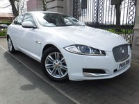 2014 JAGUAR XF 2.2 D LUXURY 4d AUTO 163 BHP £15995.00