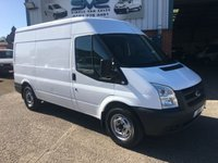 2008 FORD TRANSIT 2.2 110 BHP T350 MWB MEDIUM ROOF *FSH*  VERY CLEAN £5495.00