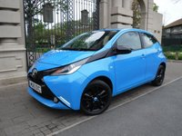 USED 2015 15 TOYOTA AYGO 1.0 VVT-I X-CITE 2 X-SHIFT 5d AUTO 69 BHP *** FINANCE & PART EXCHANGE WELCOME *** 1 OWNER £ 0 FREE TAX  AIR/CON SAT/NAV REVERSE CAMERA BLUETOOTH PHONE