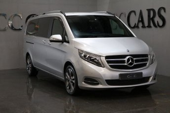 2015 MERCEDES-BENZ V CLASS 2.1 V220 BLUETEC SPORT 5d AUTO 161 BHP EXTRA LONG WHEEL BASE £26995.00