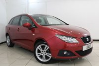 USED 2010 10 SEAT IBIZA 1.4 SE 5DR 85 BHP SERVICE HISTORY + CRUISE CONTROL + AIR CONDITIONING + RADIO/CD + ELECTRIC WINDOWS + 15 INCH ALLOY WHEELS