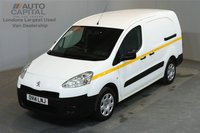 USED 2014 14 PEUGEOT PARTNER 1.6 HDI 90 BHP MWB LOW ROOF 5 SEATER COMBI VAN   ONE OWNER FROM NEW, SERVICE HISTORY