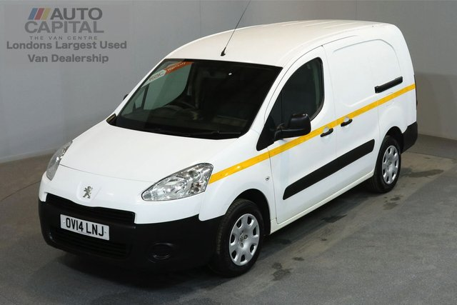 2014 14 PEUGEOT PARTNER 1.6 HDI 90 BHP MWB LOW ROOF 5 SEATER COMBI VAN   ONE OWNER FROM NEW, SERVICE HISTORY