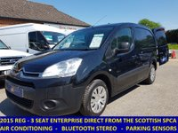 2015 CITROEN BERLINGO 625 ENTERPRISE WITH AIR-CON & FULL ELECTRIC PACK £6495.00