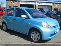 USED 2005 05 DAIHATSU SIRION 1.3 S 5d 86 BHP ONLY 3 OWNERS + NEW MOT ON SALE