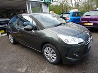 USED 2010 10 CITROEN DS3 1.4 DSIGN 3d 95 BHP Just Serviced by ourselves, MOT until November 2018