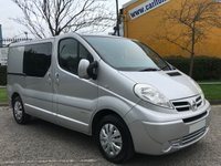 USED 2007 07 NISSAN PRIMASTAR 2.0 SE SWB DCI 115 D/CREW CAB 5 SEAT # NO VAT TO PAY # DELIVERY T,B,A