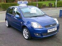 2008 FORD FIESTA 1.2 ZETEC BLUE 5d 75 BHP £3295.00