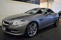 USED 2012 12 MERCEDES-BENZ SLK 1.8 SLK250 BLUEEFFICIENCY 2d AUTO 204 BHP
