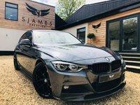 2017 BMW 3 SERIES 3.0 330D M SPORT 4d AUTO 255 BHP £23490.00