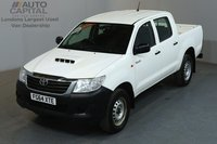 USED 2014 64 TOYOTA HI-LUX 2.5 ACTIVE 4X4 142 BHP MWB A/C ONE OWNER FROM NEW, SERVICE HISTORY