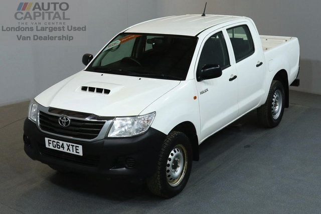 2014 64 TOYOTA HI-LUX 2.5 ACTIVE 4X4 142 BHP MWB A/C ONE OWNER FROM NEW, SERVICE HISTORY