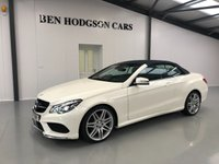 USED 2016 16 MERCEDES-BENZ E CLASS 3.0 E 350 D AMG LINE EDITION 2d AUTO 255 BHP Air Scarf! Sat Nav! Only 8K!