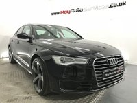 "USED 2016 16 AUDI A6 2.0 TDI ULTRA SE 4d 188 BHP ALL EXTRAS INCLUDED IN PRICE *** UPGRADED 20"" ALLOYS ***"