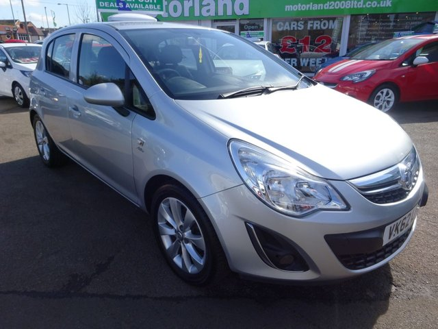 USED 2012 62 VAUXHALL CORSA 1.2 ACTIVE AC 5d 83 BHP **CALL TODAY 01543 877320**