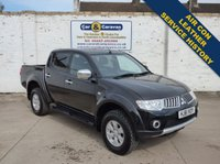USED 2011 61 MITSUBISHI L200 2.5 DI-D 4X4 TROJAN DCB 1d 134 BHP Service History A/C Leather 0% Deposit Finance Available