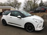 2013 CITROEN DS3 1.6 E-HDI AIRDREAM DSPORT PLUS 3d 111 BHP £5995.00