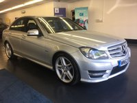 2012 MERCEDES-BENZ C CLASS 1.8 C180 BLUEEFFICIENCY SPORT 4d AUTO 155 BHP £SOLD