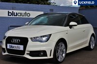 USED 2011 11 AUDI A1 1.4 TFSI S LINE 3d 122 BHP 1 Owner, Low Miles, Huge Spec, Leather, Pan Roof, Sat Nav, Bluetooth, Voice Command