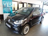 USED 2012 12 VOLKSWAGEN UP 1.0 UP BLACK 3d 74 BHP Two lady owners, full service history, supplied with 12 months Mot. Finished in Deep Black Pearl with a lovely specification.