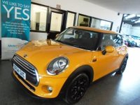 USED 2015 64 MINI HATCH ONE 1.2 ONE 3d 101 BHP One lady owner from new, full service history, January Mot. Finished in Volcanic Orange with Black cloth seats.
