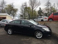 2010 TOYOTA AVENSIS 1.8 VALVEMATIC TR 4d 145 BHP £5995.00